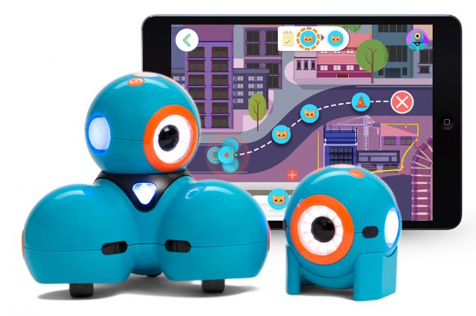 미국 원더워크샵에서 개발한 교육용 코딩 로봇 대시앤닷. - Wonder Workshop 제공